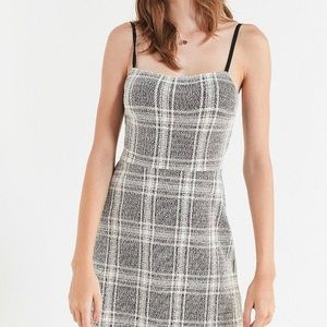 UO Cher Straight-Neck Mini Dress size XL
